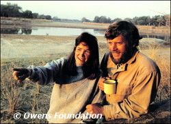 Mark and Delia Owens